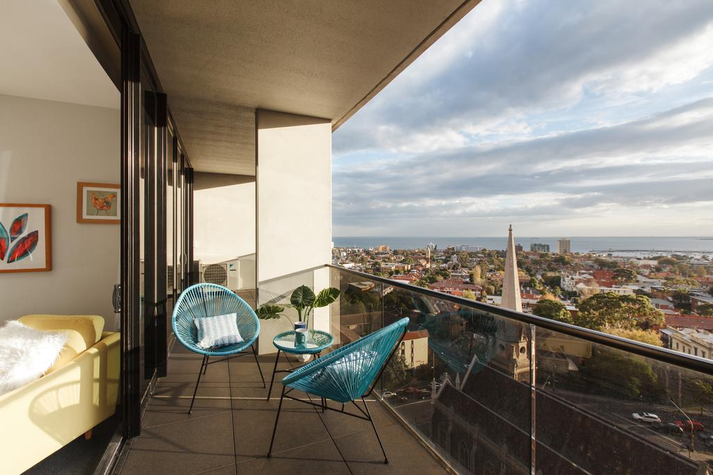 Ascent Apartment With Ocean Views By Ready Set Host - St Kilda Accommodation